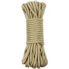 Верёвка 5мм 15м койот MFH 27509A