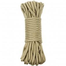Верёвка 7мм 15м койот MFH 27509B
