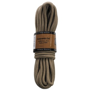Верёвка 9мм 15м койот MFH 27509C